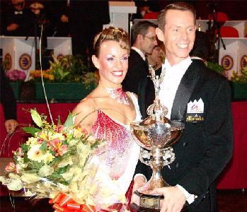 Domenico Soale & Gioia Cerasoli - Italy, Blackpool Amateur Ballroom